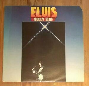 Elvis-Presley-Moody-Blue-Vinyl-LP-Album-33rpm-1977-RCA-PL-12428