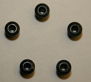 Kronos-Aluminum-Alloy-Inner-Chainring-Bolts-Black-8-0-mm-long-5-pcs
