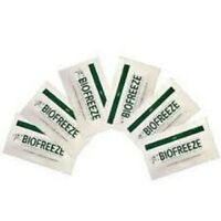 BIOFREEZE PAIN RELIEVING GEL 3 GRAM PACKETS TRAVEL SIZE SIX(6)PACK FREE SHIPPING