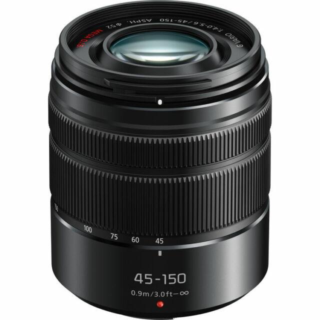 Panasonic H-FS45150AK Lumix G Vario 45-150mm f/4-5.6 Objectif (boîte blanche)