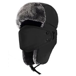 Image is loading Winter-Trooper-Trapper-Hunting-Hat-With-Mask-Ushanka- 159305ba30e