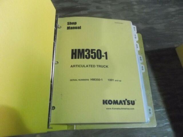 Komatsu Hm350