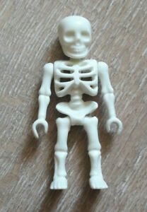 Playmobil Figurine Squelette Blanc Castle Pirate NEW