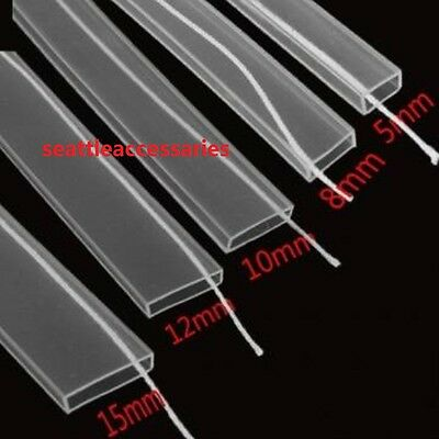 Wholesale Silicon Tube Waterproof 15mm 12mm 10mm 8mm for LED Strip 3528 5050