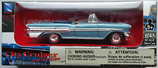 NewRay - 1957 Pontiac Bonneville Cabrio hellblaumet. 1:43 Neu/OVP Modellauto