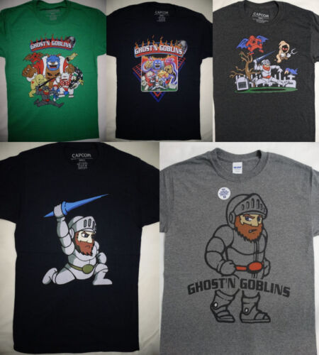 Ghost N Goblins Arthur Astaroth Video Game Licensed T-Shirt