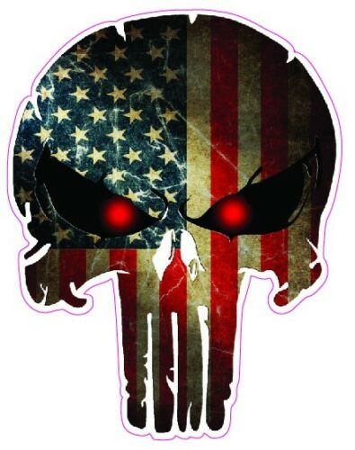 """Punisher Decal Large 10/"""""""