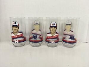 NOS-NEW-1984-Montreal-Expos-PETE-ROSE-14-MLB-Baseball-Drinking-Glass-Cup-RARE