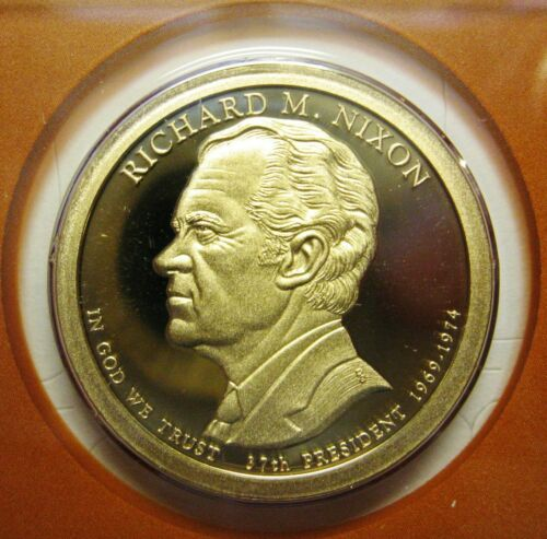 In Stock 2016 S Presidential Dollar Richard M Nixon PROOF coin Ship TODAY