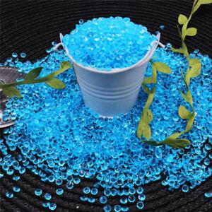 Tiny-1000-10000pcs-4-2-mm-Confettis-Acrylique-Diamant-Table-Scatter-Cristaux-Mariage