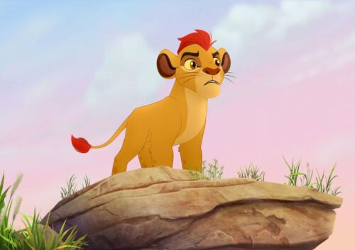 LION GUARD A4 GLOSSY POSTER.