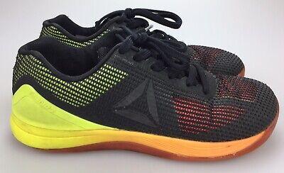 REEBOK CF7 CrossFit Nano 7.0 Negro Zapatos Para Hombre Calce 7 Mediana nanoweave ropepro | eBay