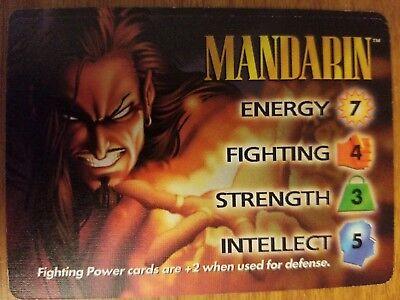 Marvel Overpower IQ Longshot Hero Card NrMint-Mint