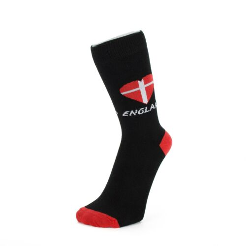 Ankle Socks With Heart Shaped St.George/'s Cross Union Jack Size: 6-11