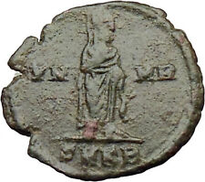 CONSTANTINE I the GREAT 347AD  Ancient Roman Coin Christian Deification i29979