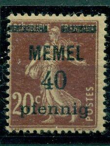 Memel-auf-franzoesischer-Marke-Nr-22-a-postfrisch-gepr-BPP