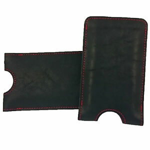 Tasche-Ledertasche-Lederhuelle-aus-echtem-Leder-fuer-Sony-iPhone-Samsung-LG-Huawei
