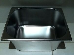 Brand-New-Stainless-Steel-1-2-Food-Tray