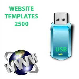 Website Templates EBay Template EBooks Collection USB - Ebay website template