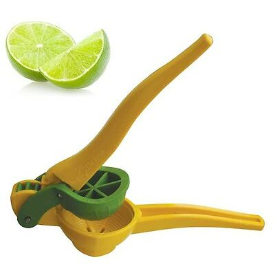 Lemon Squeezer Yellow Cutter Segmenter Lime Citrus Juicer Juice Manual Press