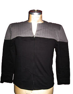 Uniform-STAR-TREK-First-Contact-DS9-BW-Jacke-Groesse-XL-neu
