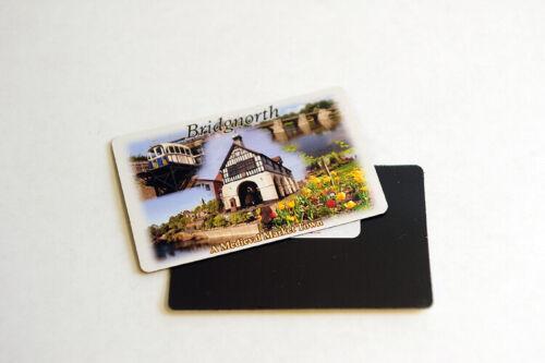 Bridgnorth Fridge Magnet /'Bridgnorth Picture Montage/' Flexible Town Magnet