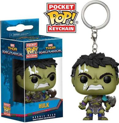Affidabile Hulk Thor Ragnarok Pocket Pop Portachiavi Ufficiale Marvel Funko Pop Keyring-