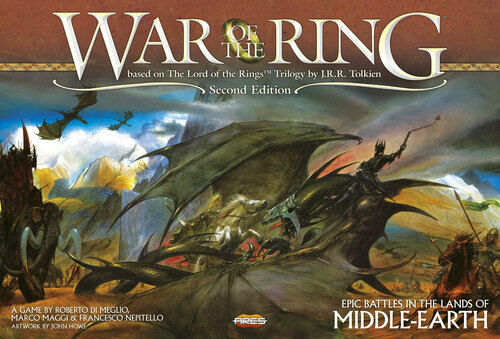 War of the Ring, a Boardgame by Ares Games, New, English Edition