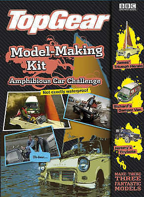 1 of 1 - Top Gear: Aqua Challenge Model Making Kit, BBC, Excellent Book