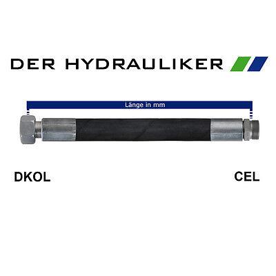 NW06 metrisch 315 bar NW06 mit DKOL//CEL Hydraulikschlauch 2SC 06L //08L