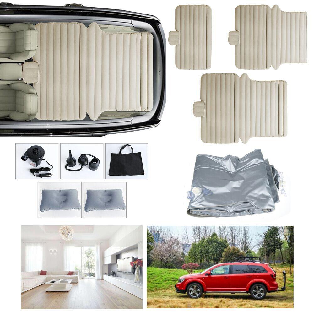 3in1 SUV Luftmatratze Auto Auto Auto Luftbett mit Pumpe aufblasbare Multifunktion Reise 8e3fe1