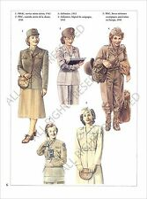 PLANCHE UNIFORM PRINT WWII US Army United States Army Air Forces USAAF 1943