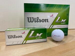 Wilson-Lady-LX-Golfbaelle-5-x-12-Baelle-weiss-Distance-60-Baelle-statt-90
