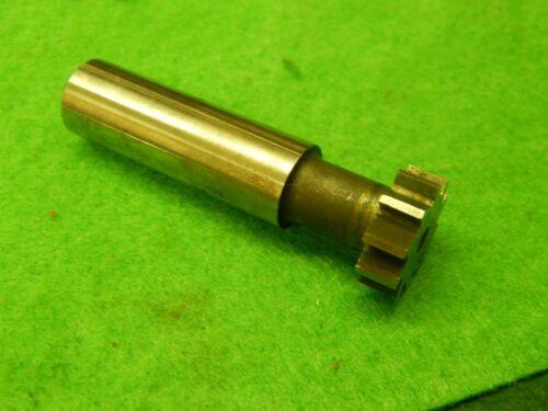 "Morse Tools .660/"" x .220  HSS Key Seat T-Slot Cutter"