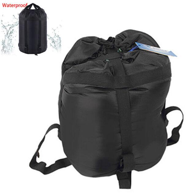 ee2612837ac5 Waterproof Compression Stuff Sack Dry Sleeping Bag Rafting Camping Hiking  Bags
