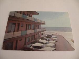 Image Is Loading VINTAGE POSTCARD SILVER SANDS MOTEL MYRTLE BEACH SC