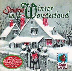 Singing-In-A-Winter-Wonderland-by-VA-CD-Santa-Records-2000-Like-NEW-OOP