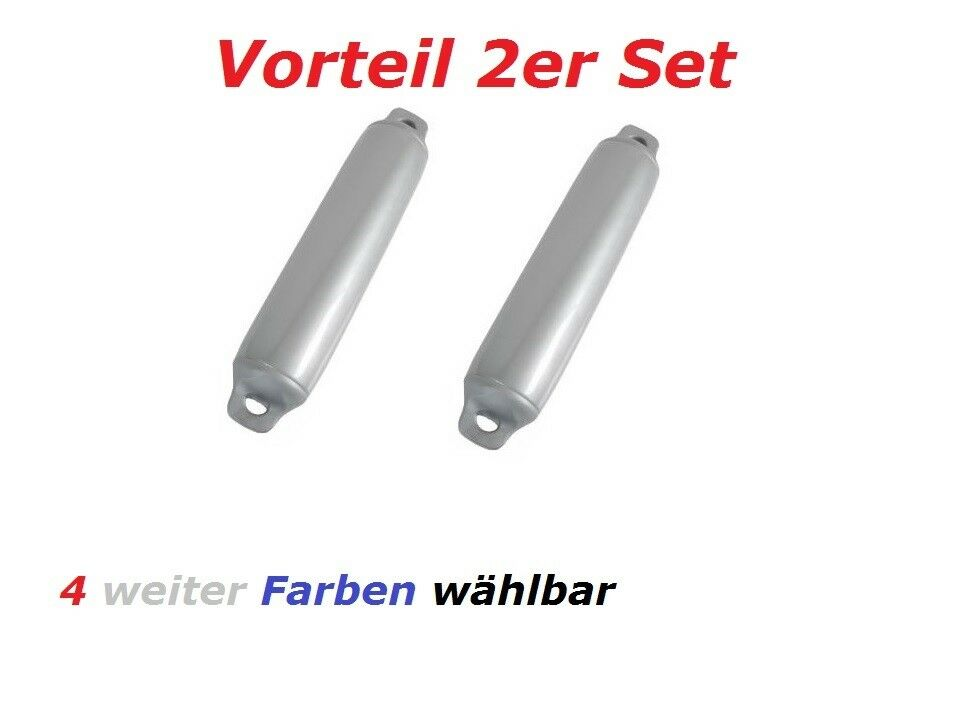 Fender Majoni Comet 2er-Set Rammschutz Stiefel Yacht Stiefelfender Stiefel Langfender Stiefel Rammschutz 78f76e
