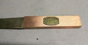 Stevedore Night- Hotel Commodore Jan. 22,1947 brass and bronze letter opener NYC