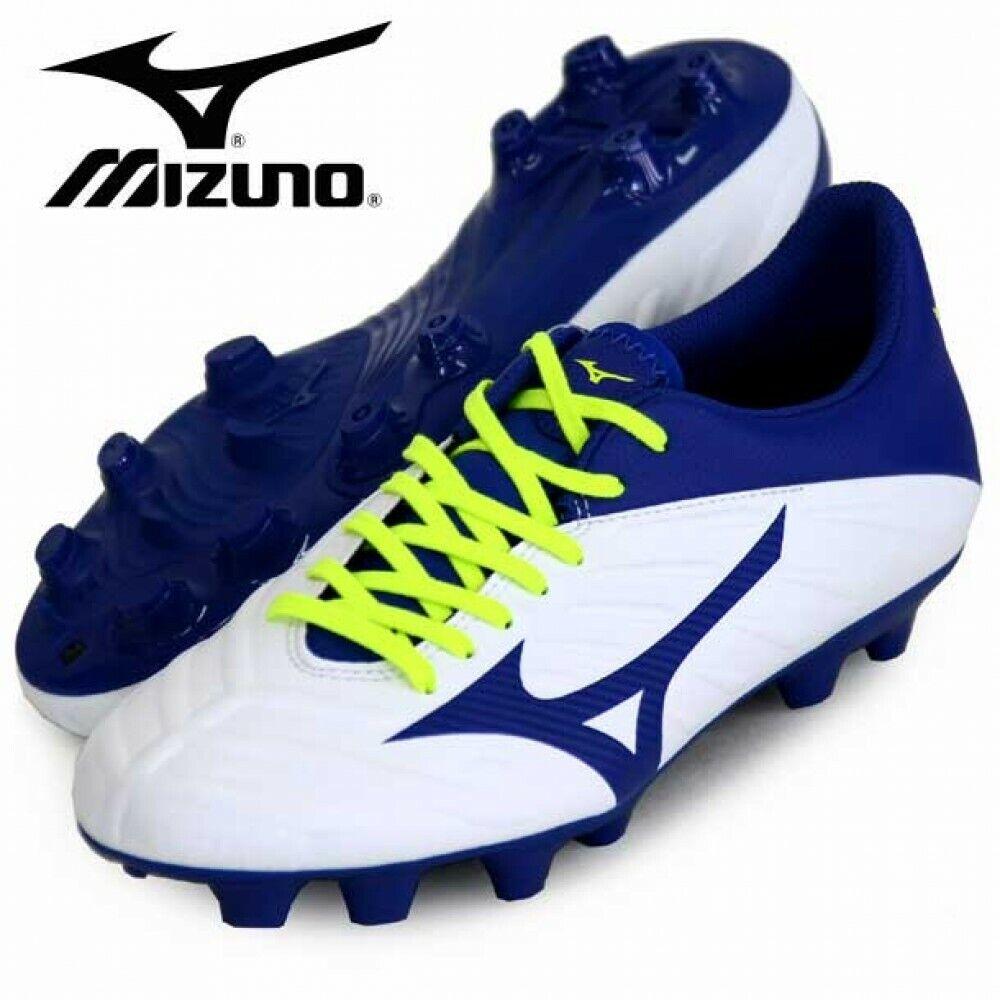 Mizuno REBULA 2 V3 Footbtutti Soccer sautope Wide P1GA1975 bianca With Tracre