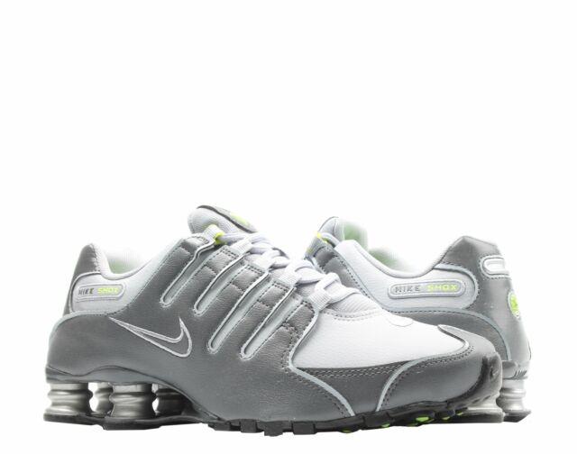 online retailer 8b33b fab22 Nike Shox NZ Dark Grey/Wolf Grey Men's Running Shoes 378341-009