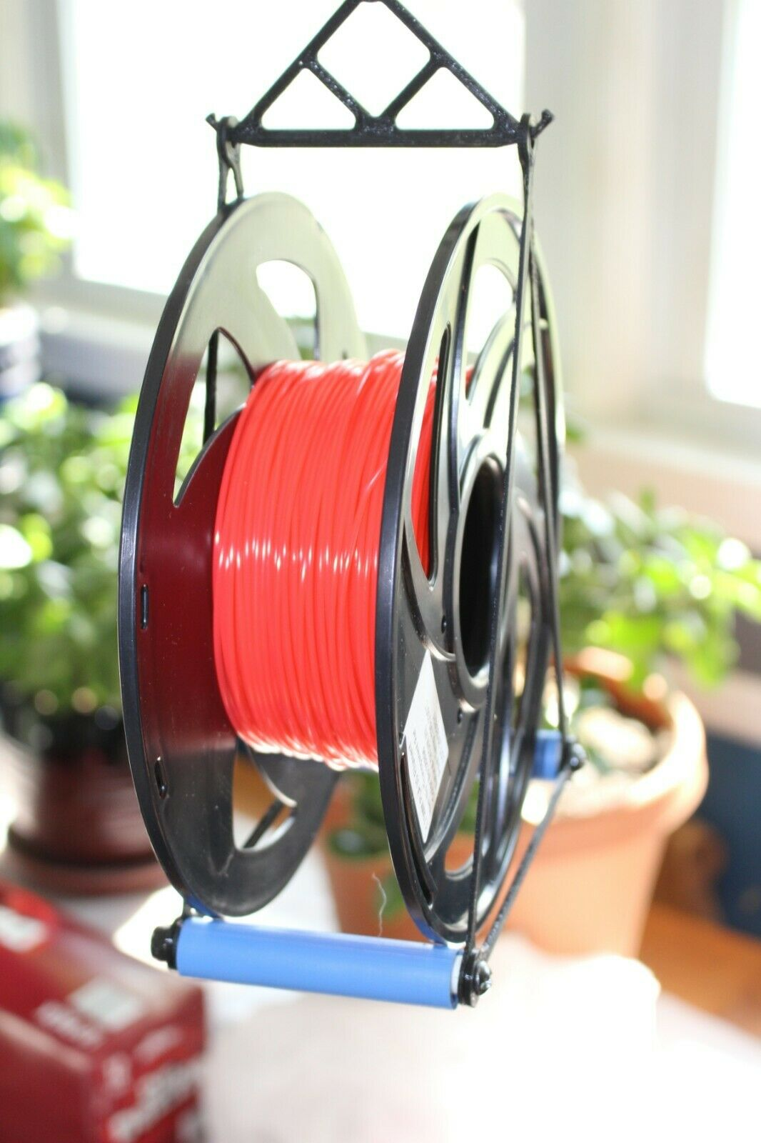 (Qty: 2) 3D Printer Spool Holder - Standard 1KG spools - Precision Bearings