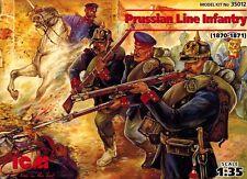 ICM 35012 - Prussian Line Infantry 1870 1871 - Soldaten - 1:35