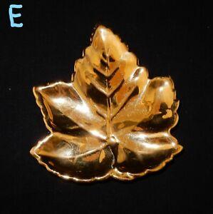 Royal-Winton-Golden-Age-Gold-Lustre-Leaf-Shaped-Trinket-Dish-E