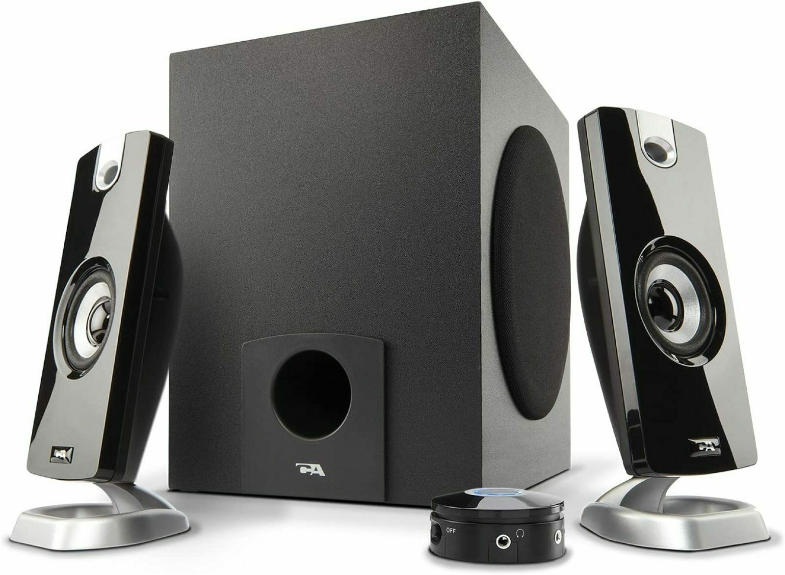 Computer Speaker System Subwoofer Laptop Desktop Gaming Surround Sound PC. Buy it now for 34.81