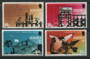 JERSEY-Gomma-integra-non-linguellato-UMM-Stamp-Set-1990-SG-526-529-ANNO-INTERNAZIONALE-dell-039
