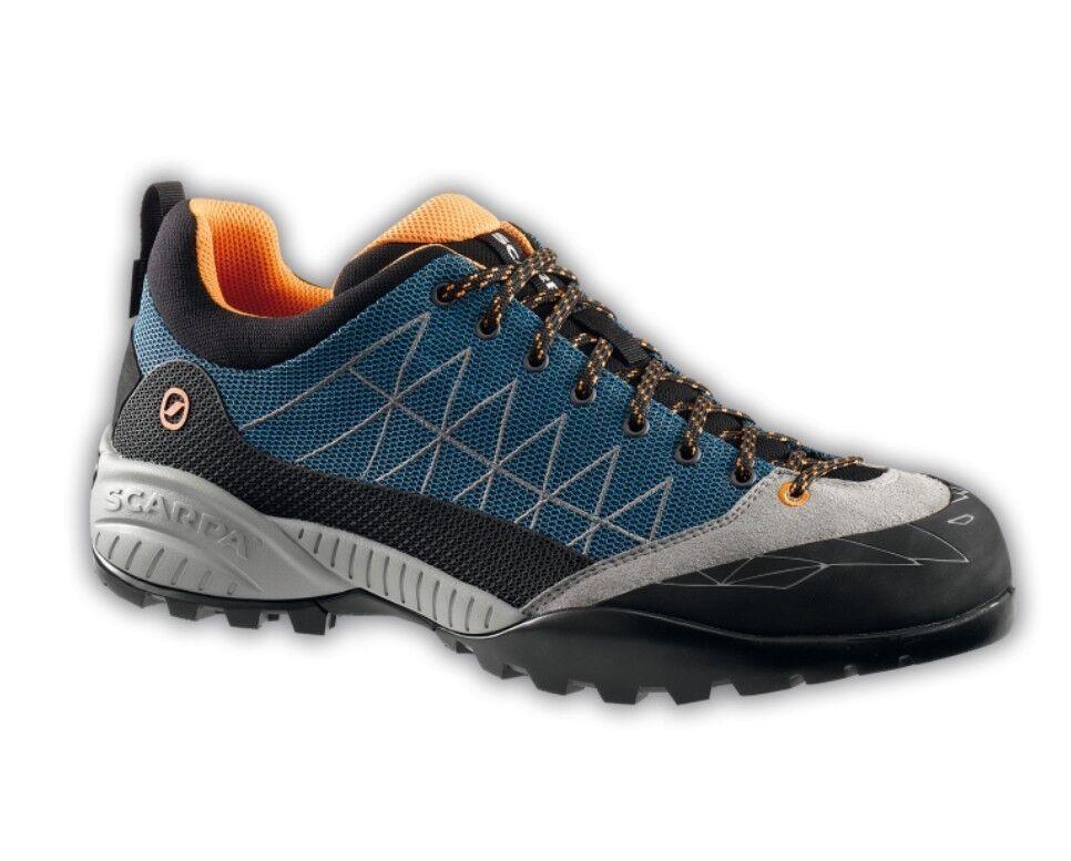 Scarpa Zen Lite GTX Men, azure-Orange, Approach- Zustiegsschuh, Zustiegsschuh, Zustiegsschuh, Goretex 37f012