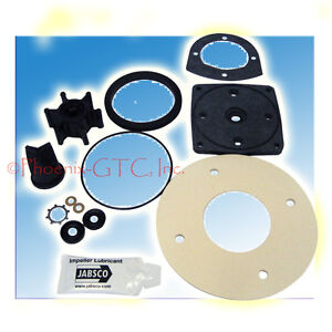 Jabsco Service Kit f/Electric Toilet 37010 Series, #37040-0000