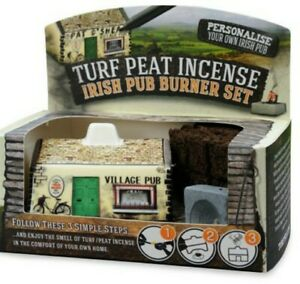 Turf-Peat-Incense-Irish-Pub-Burner-Set
