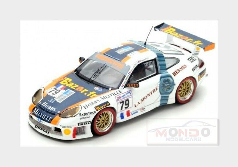 Porsche 911 996 Gt3 R Team Perspective Racing  79 Le Mans 2000 SPARK 1 43 S4759